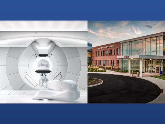 Probeam device, Cincinnati Children's/UC Health Proton Therapy Center