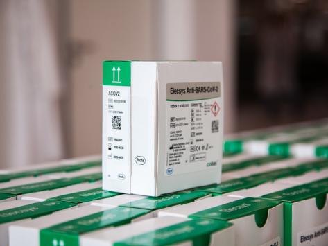 Elecsys Anti-SARS-COV-2 packaging