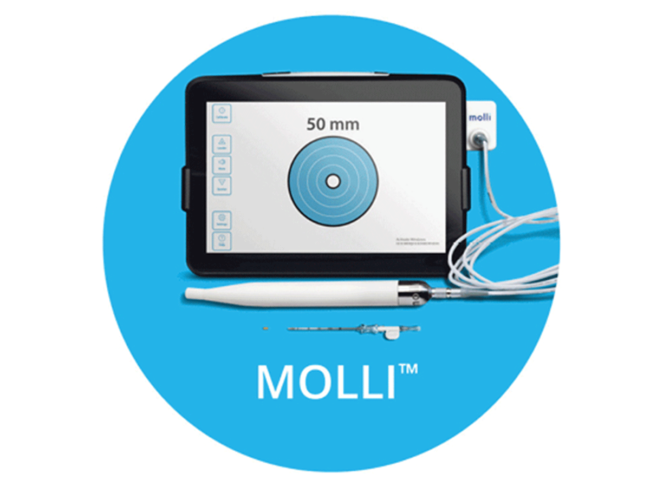 Molli Surgical magnetic breast tumor marking device