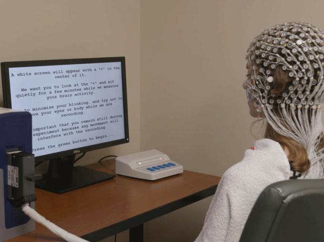 EEG testing