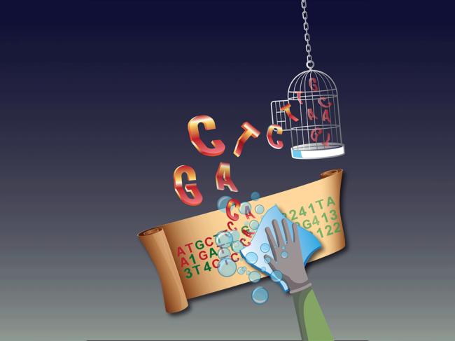 Data privacy illustration