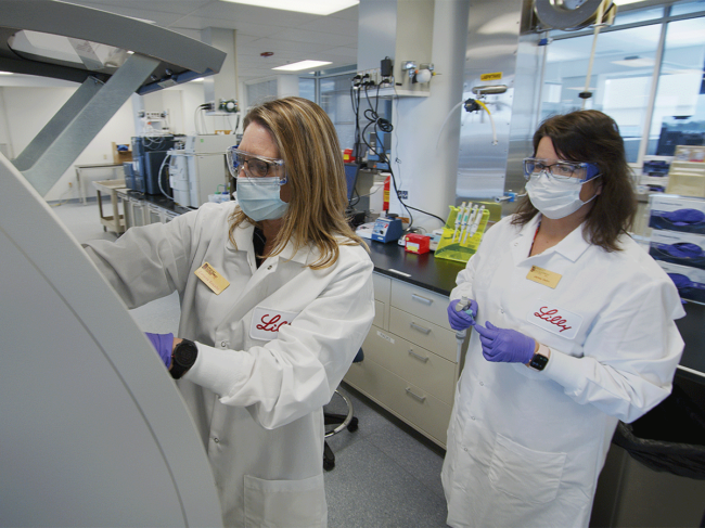 Lilly antibody quality testing process