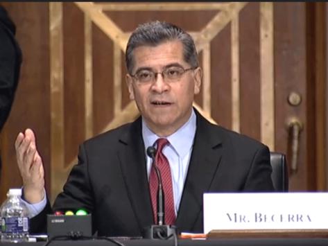 Xavier Becerra, HHS secretary nominee
