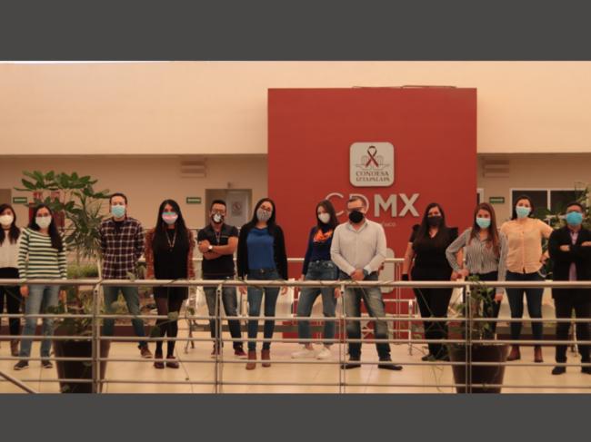 Mosaico team in Mexico City