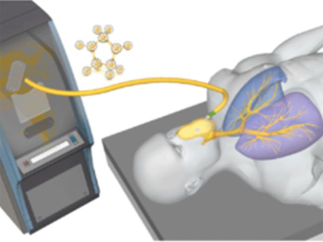 Technegas illustration