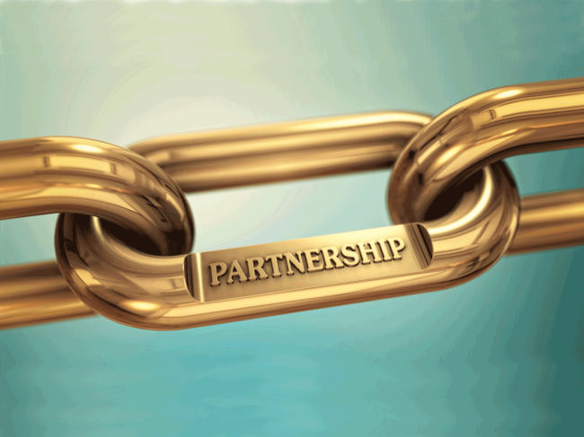 Deal partnership chain link