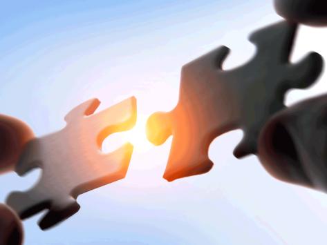 Deal puzzle pieces