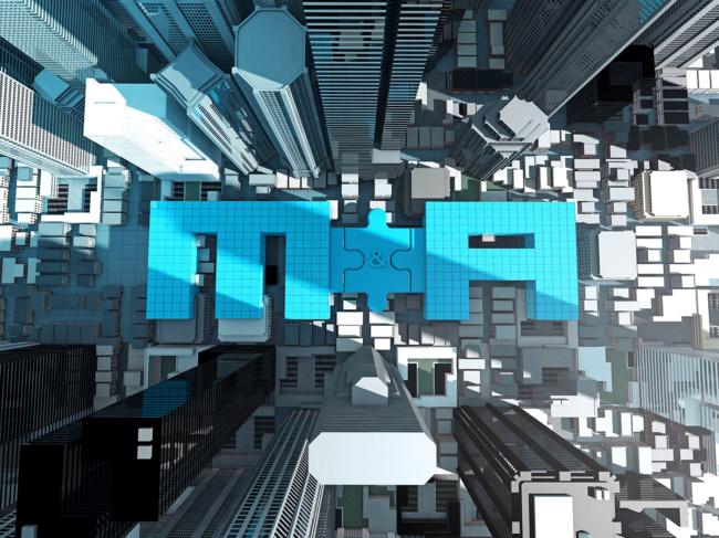 M&A cityscape
