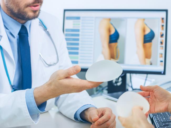 Breast implant consultation