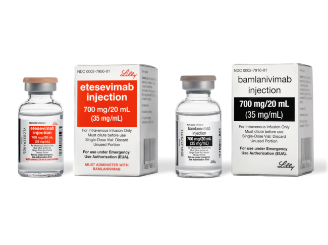 Bamlanivimab and etesevimab