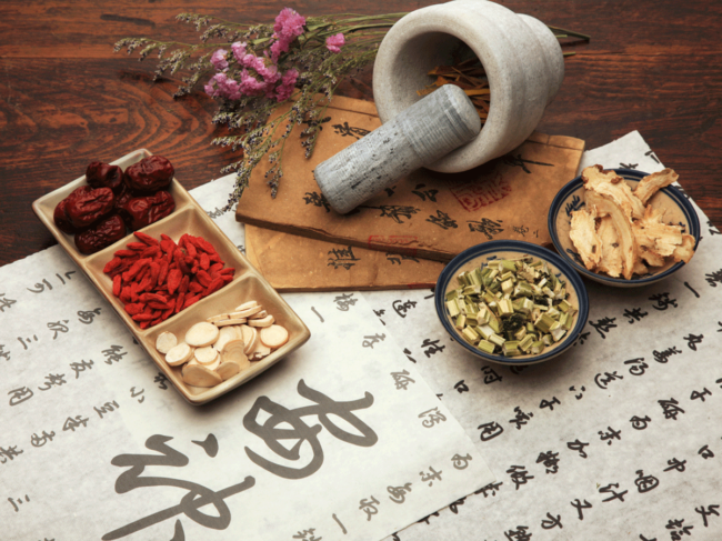 Traditional Chinese medicine illustration