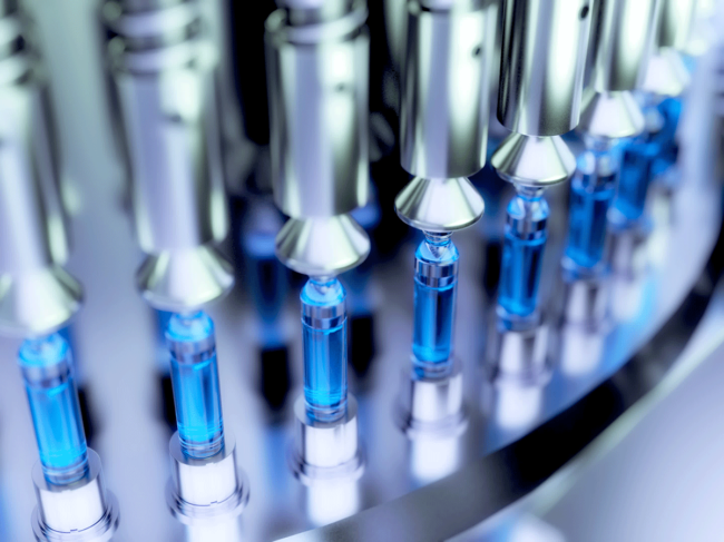Pharmaceutical vial manufacturing