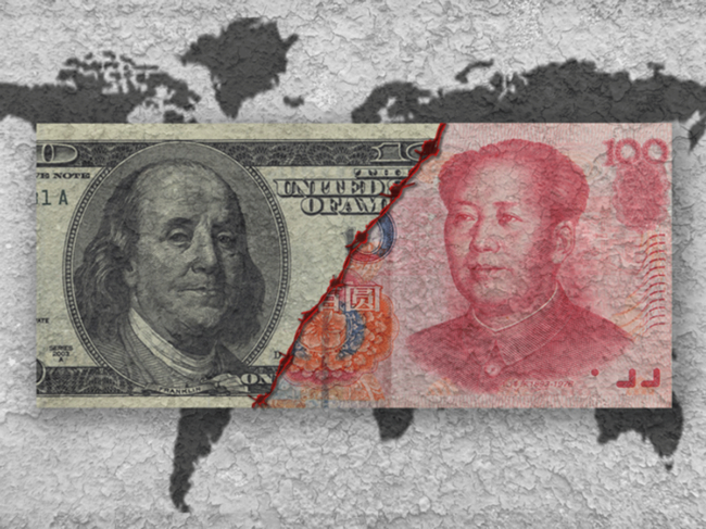 U.S.-China money