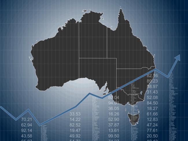 Australia-map-stock