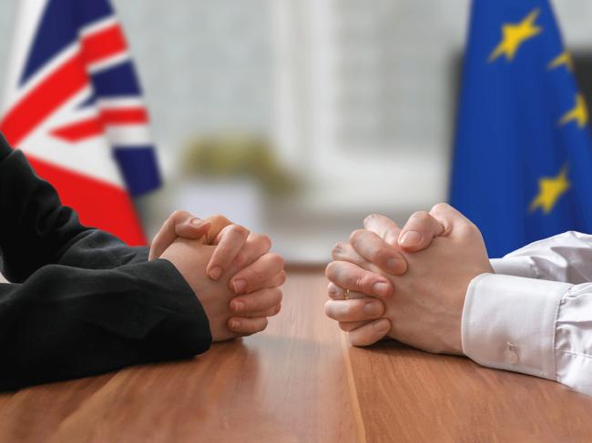 UK-EU Brexit illustration