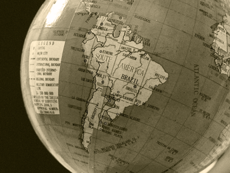 Latin-south-america-globe