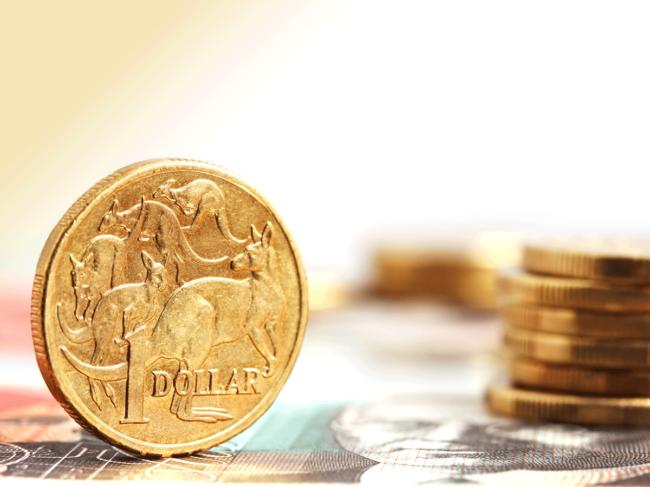 Australian coins and bills