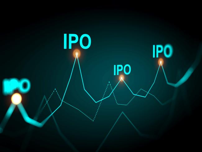 IPO line graph