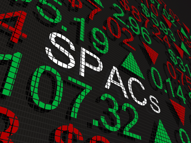 SPAC ticker illustration