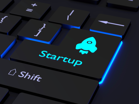 Startup key, rocket icon