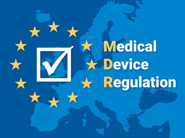 Map of Europe, Medical Device Regulation (MDR) text