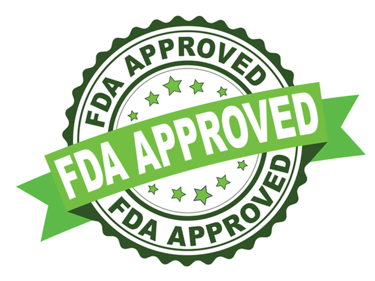 FDA Approved seal