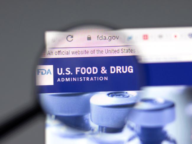 FDA website and logo