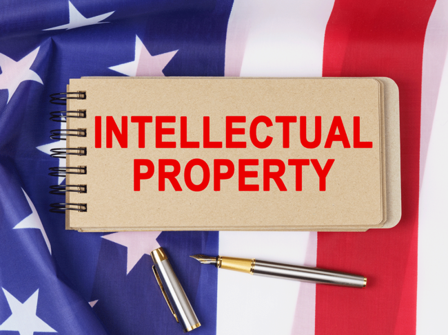 U.S. intellectual property illustration