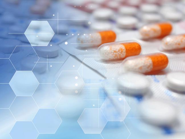 Drug research illustration