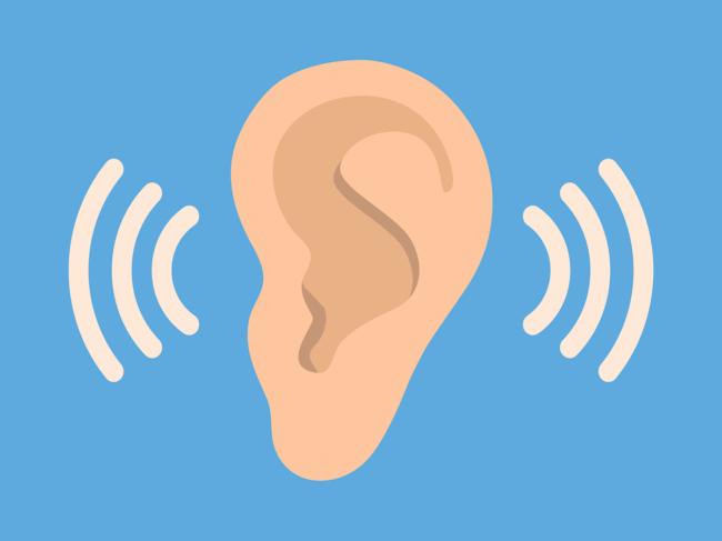 Hearing ear icon