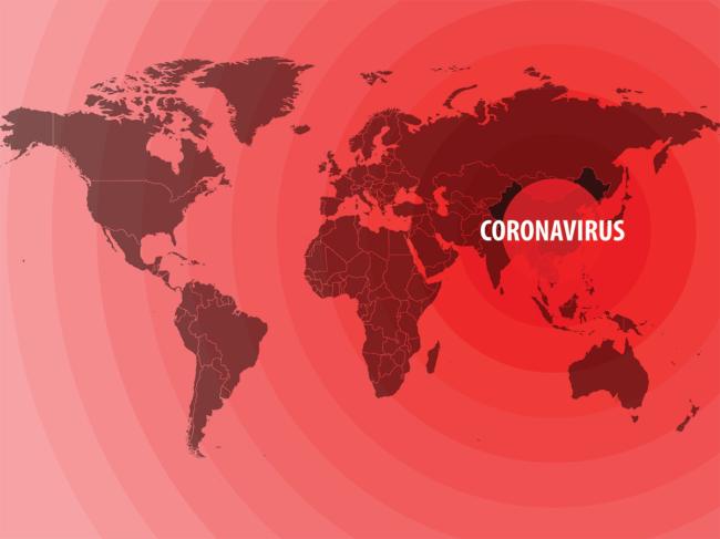 Coronavirus-map
