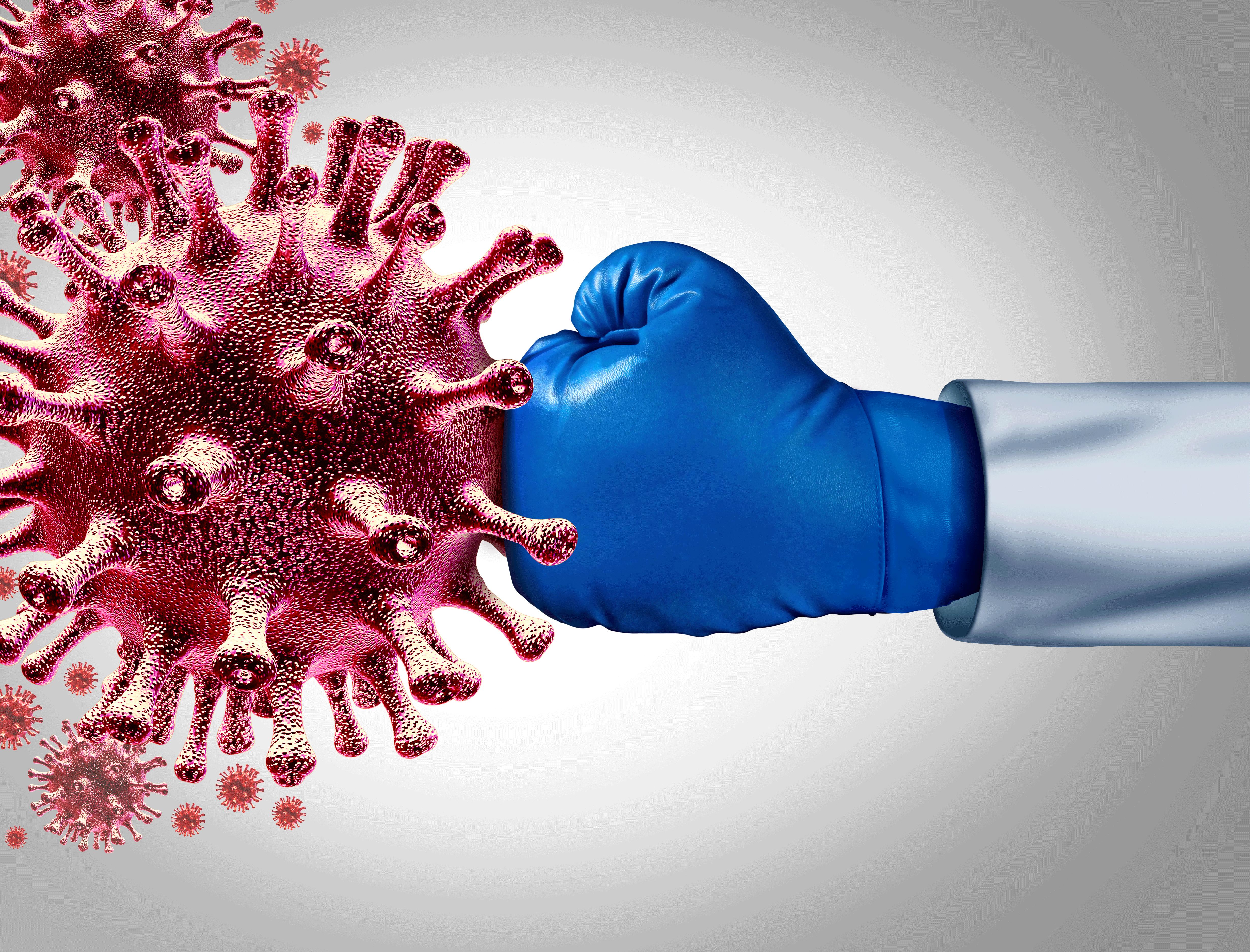 Coronavirus punch