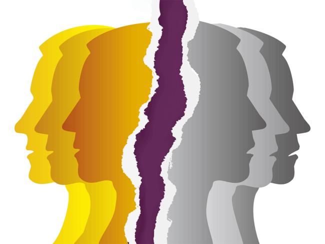 Psychiatric disorders illustration