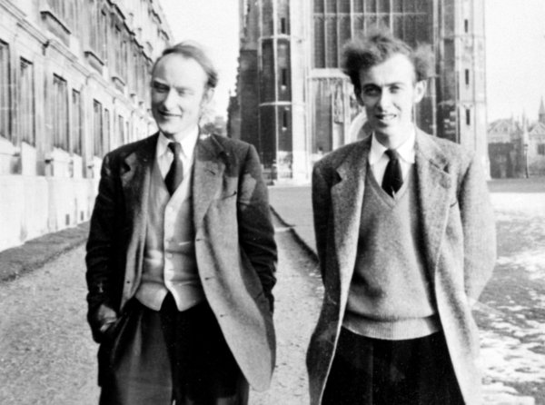 Watson & Crick, a couple of real troublemakers