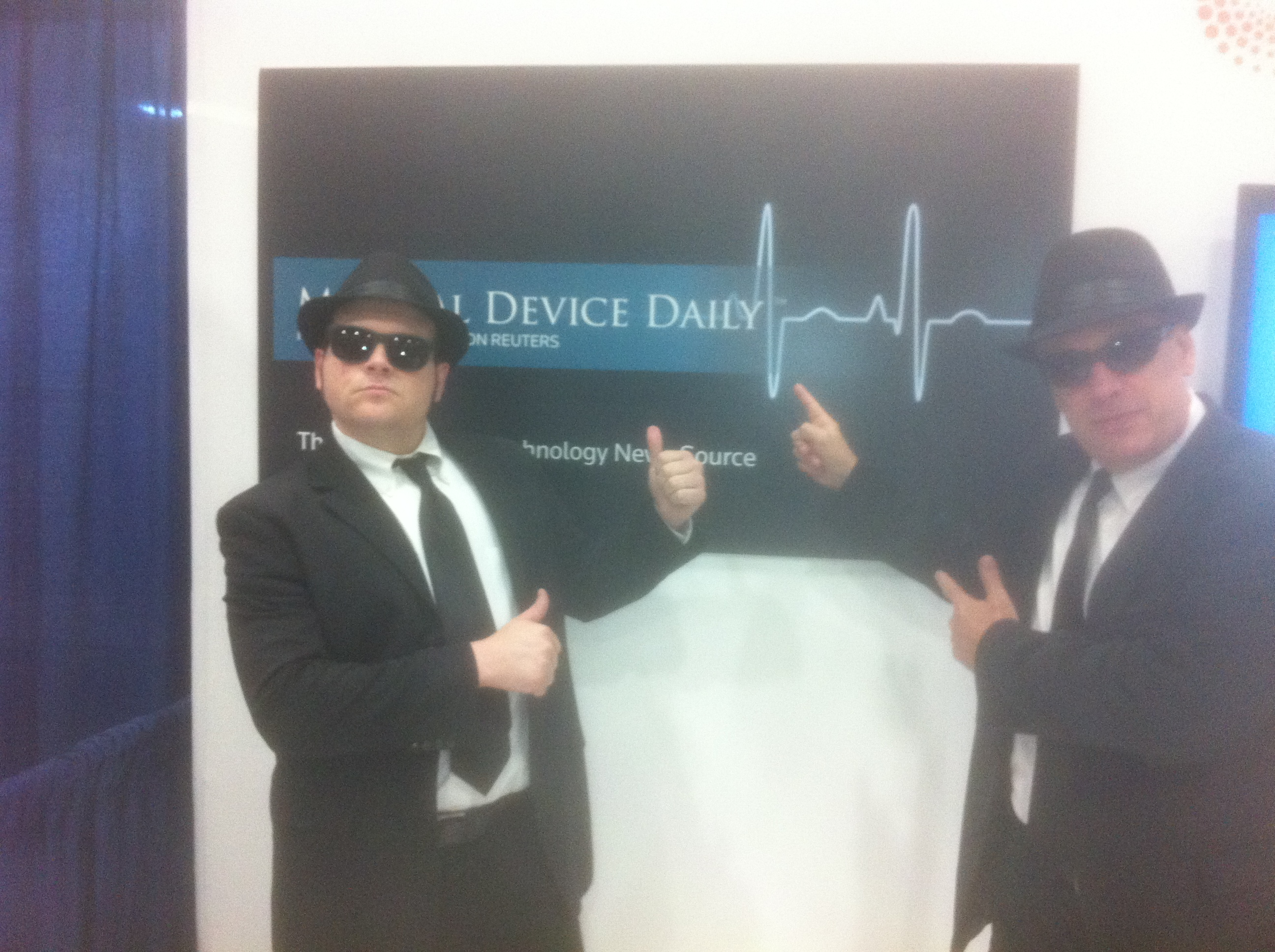 Medical Device Daily is Blues Brother-approved