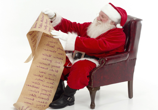 He's making a list, checking it twice, has med-tech been naughty or nice?